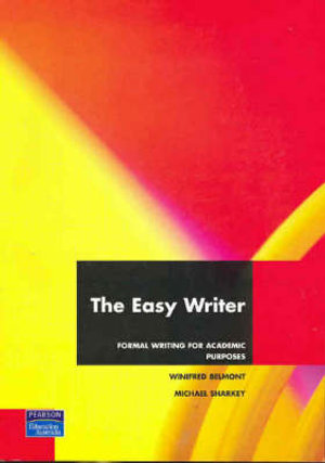Cover of The Easy Writer