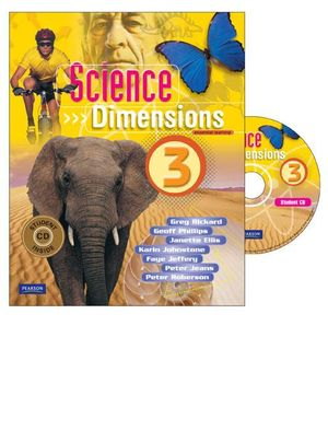 Cover of Science Dimensions 3