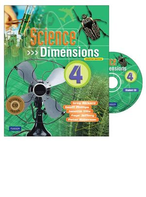 Cover of Science Dimensions 4 Coursebook