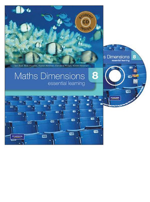 Cover of Maths Dimensions 8