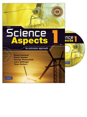 Cover of Science Aspects 1 : An Outcomes Approach Coursebook