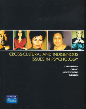 Cover of Cross-cultural and Indigenous Issues in Psychology