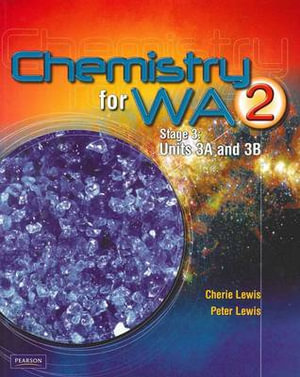 Cover of Chemistry for WA 2 Coursebook (including CD) Stage 3 (Units 3A & 3B)