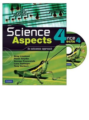 Cover of Science Aspects 4 Coursebook