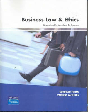 Cover of Business Law and Ethics