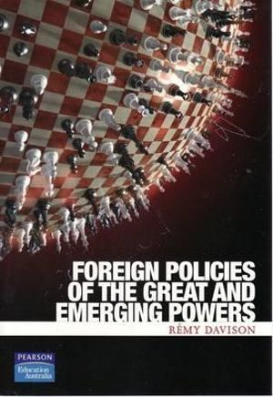 Cover of Foreign Policies Of The Great Powers
