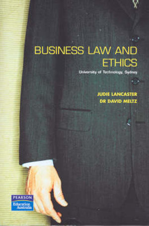 Cover of Business Law and Ethics - Sprintprint