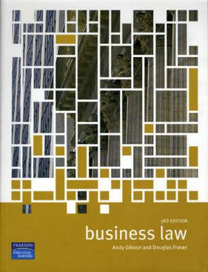 Cover of Business Law 3e