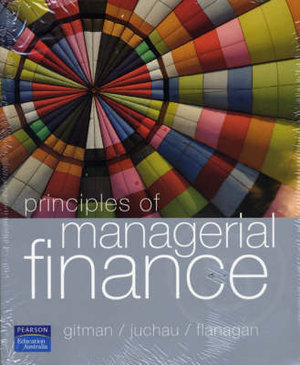 Cover of Principles of Managerial Finance