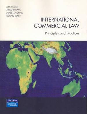 Cover of International Commercial Law