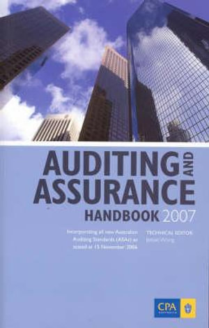 Cover of Auditing and Assurance Handbook 2007
