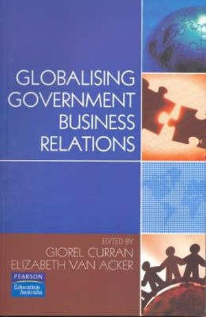 Cover of Globalising Government Business Relations