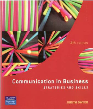 Cover of Communication in Business