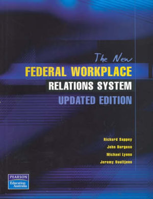 Cover of The New Federal Workplace Relations System