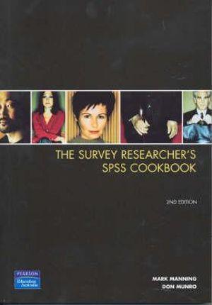 Cover of Survey Researcher's SPSS Cookbook Sprintprint