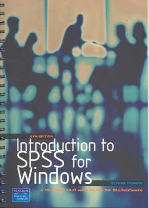 Cover of Introduction to SPSS for Windows V,15. 0 And 14. 0
