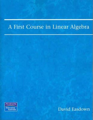 Cover of A First Course in Linear Algebra