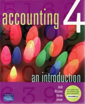 Cover of Accounting 4