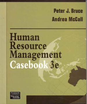 Cover of Human Resources Management Casebook