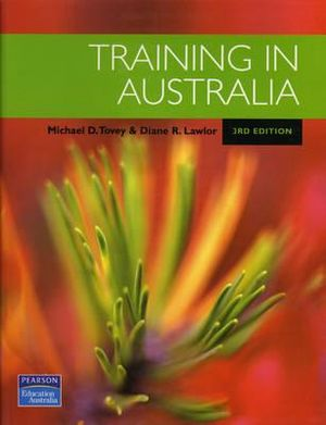 Cover of Training in Australia