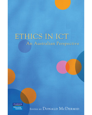 Cover of Ethics in ICT: An Australian Perspective