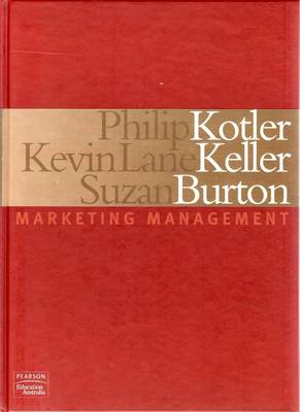 Cover of Marketing Management (Aus)
