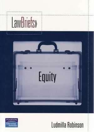 Cover of Pearson Law Briefs Equity
