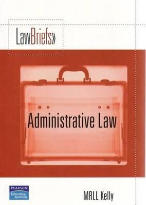 Cover of Pearson Law Briefs Administrative Law