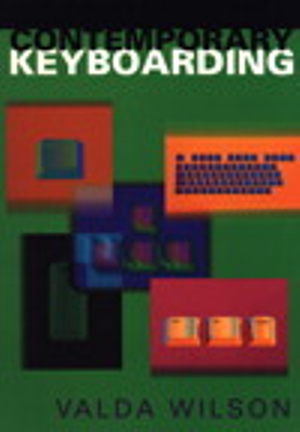 Cover of Contemporary Keyboarding