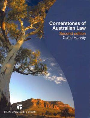 Cover of Cornerstones of Australian Law
