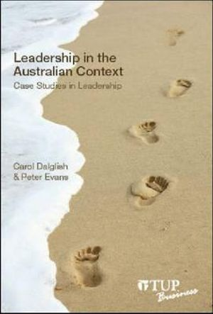 Cover of Leadership in the Australian Context