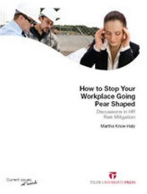 Cover of How to Stop Your Workplace Going Pear-Shaped