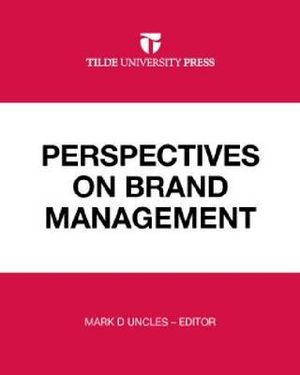 Cover of Perspectives on Brand Management