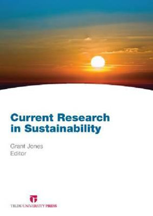 Cover of Current Research in Sustainability