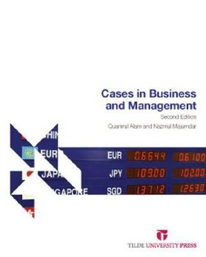Cover of Cases in Business and Management