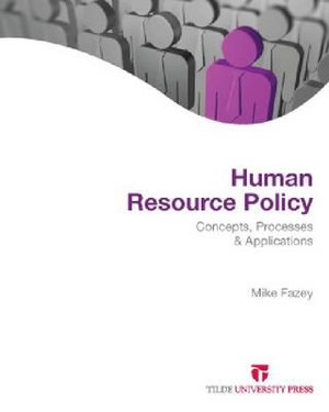 Cover of Human Resource Policy