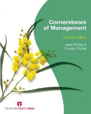 Cover of Cornerstones of Management
