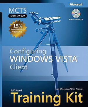 Cover of MCTS Self-Paced Training Kit (Exam 70-620)