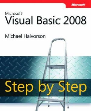 Cover of Microsoft Visual Basic 2008 Step by Step