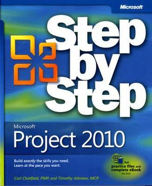 Cover of Microsoft Project 2010 Step by Step