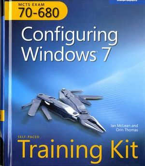 Cover of MCTS Self-paced Training Kit (exam 70-680)