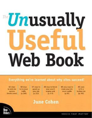 Cover of The Unusually Useful Web Book