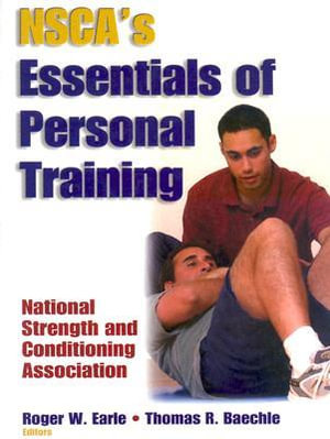 Cover of NSCA's Essentials of Personal Training