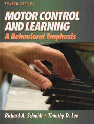 Cover of Motor Control and Learning