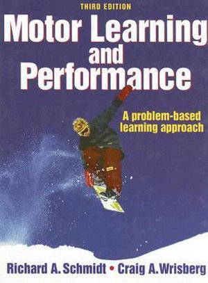 Cover of Motor learning & performance. 3. ed