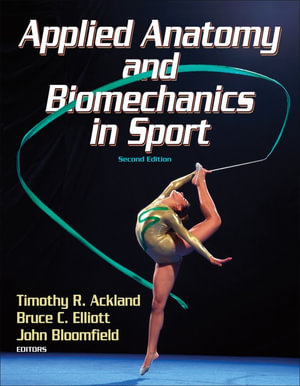 Cover of Applied anatomy and biomechanics in sport