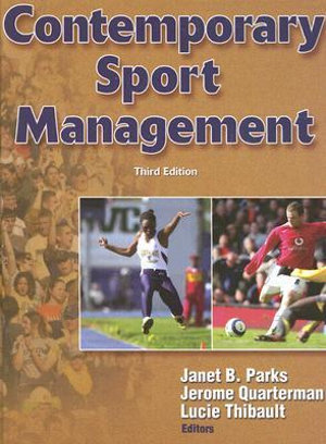 Cover of Contemporary Sport Management