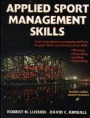 Cover of Applied Sport Management Skills