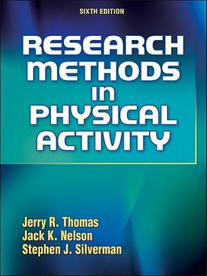 Cover of Research Methods in Physical Activity