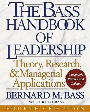 Cover of The Bass Handbook of Leadership